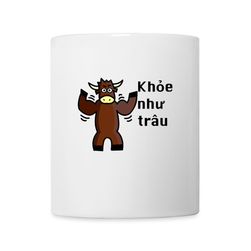 Healthy as a buffalo - Mug