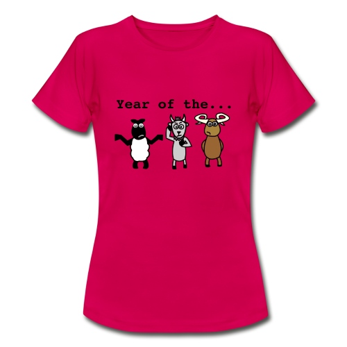 Year of the... - Women's T-Shirt