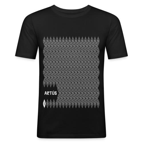 Artús - Motif drac - T-shirt près du corps Homme