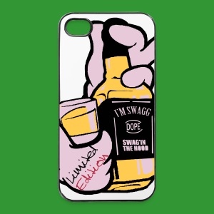 Carcasa iPhone 4/4S Whisky Mano - Carcasa iPhone 4/4s