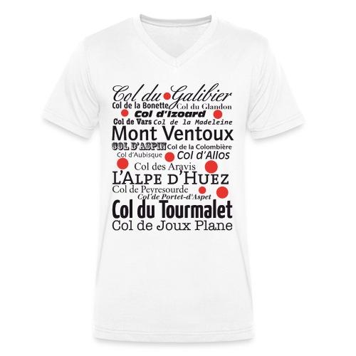 # TDF cols - Mannen bio T-shirt met V-hals van Stanley & Stella
