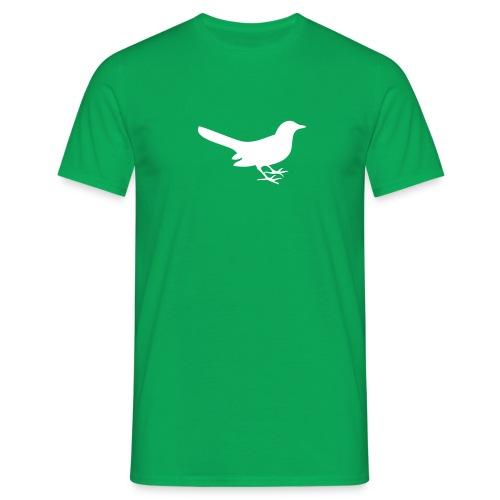 vippestjert fugl - T-skjorte for menn