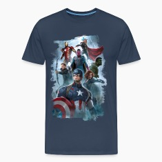 The Avengers with Vision Männer T-Shirt