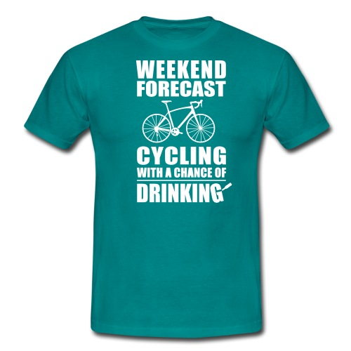 BBB Weekend forecast - Men's T-Shirt