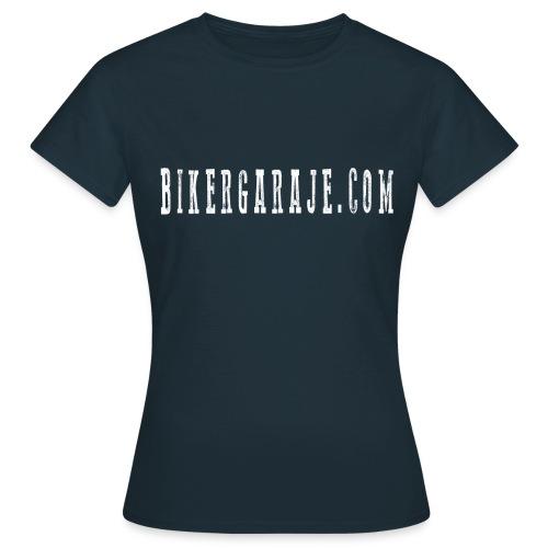 Camiseta BikerGaraje.Com Simple - Camiseta mujer