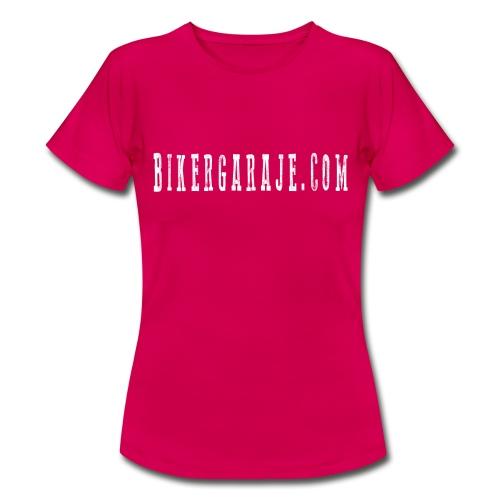 Camiseta BikerGaraje.Com Simple Chica - Camiseta mujer