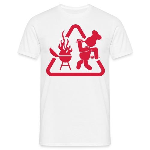 BBQ Drank T-shirt - Mannen T-shirt