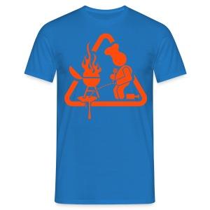 BBQ Pis T-shirt - Mannen T-shirt