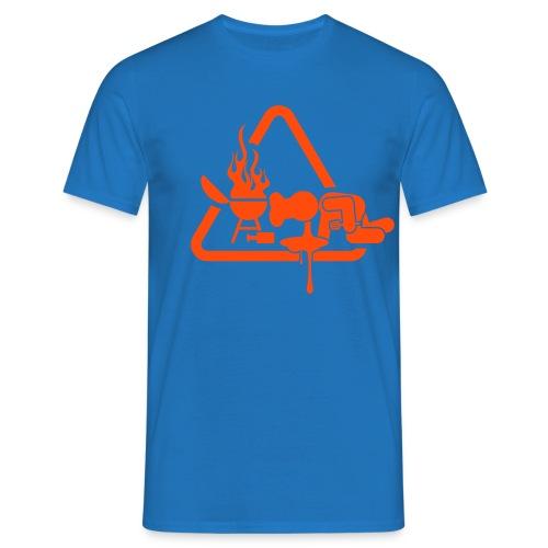 BBQ Kots T-shirt - Mannen T-shirt