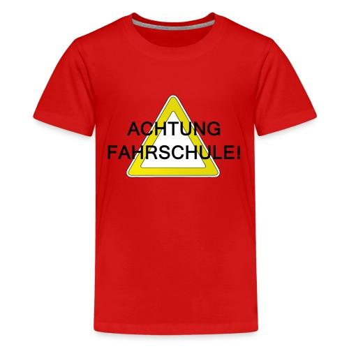 Fahrradprüfung - Teenager Premium T-Shirt