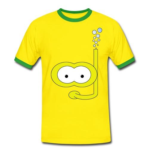 Schwimmen - Männer Kontrast-T-Shirt