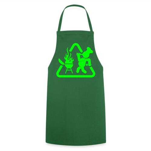 BBQ Drank man schort - Keukenschort