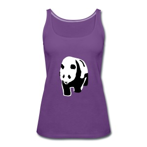 Panda Tops - Frauen Premium Tank Top