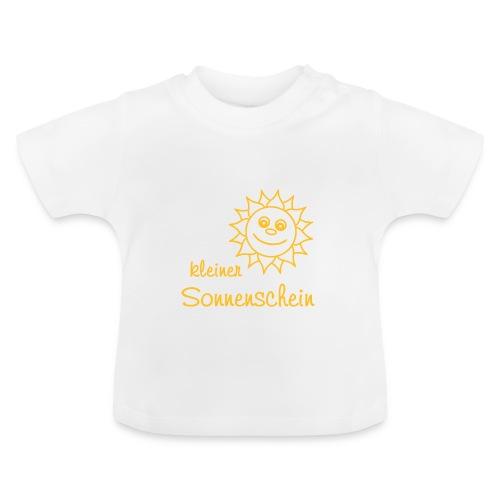 Baby Shirt kleiner Sonnenschein - Baby T-Shirt