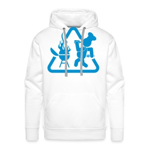 BBQ Mannen Hoodie Drank - Mannen Premium hoodie