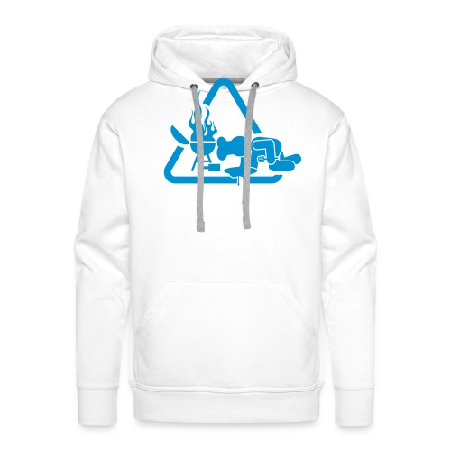 BBQ Mannen Hoodie Kots - Mannen Premium hoodie