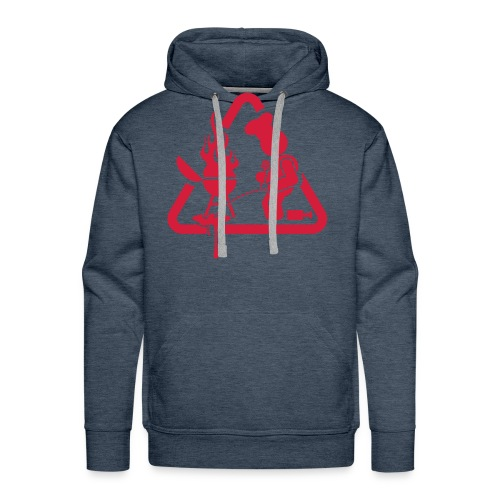 BBQ Mannen Hoodie Pis - Mannen Premium hoodie
