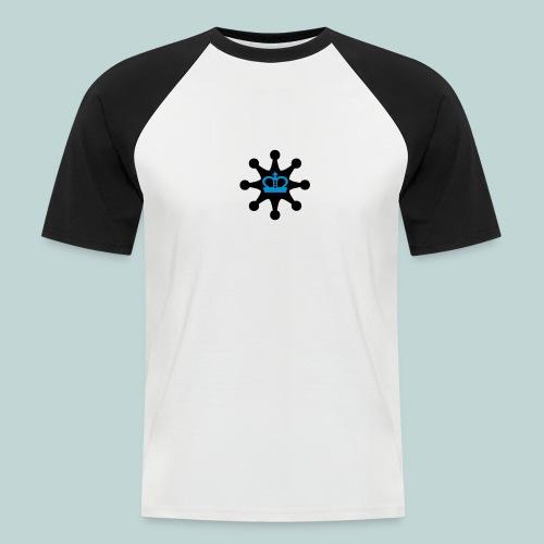Schachsheriff Baseball - Männer Baseball-T-Shirt