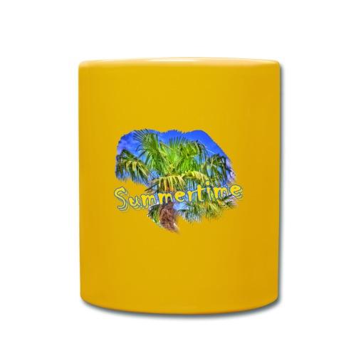 Summertime - Tasse einfarbig