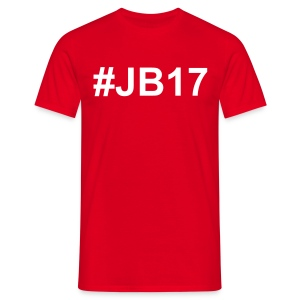T-Shirt Simple #JB17 Rouge - T-shirt Homme