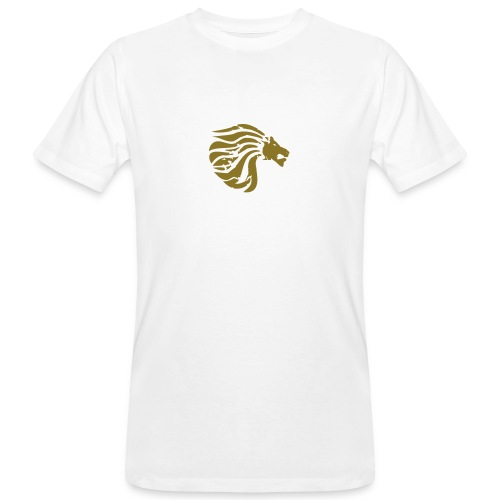 Organic Shirt Golden True Lion  - Men's Organic T-shirt