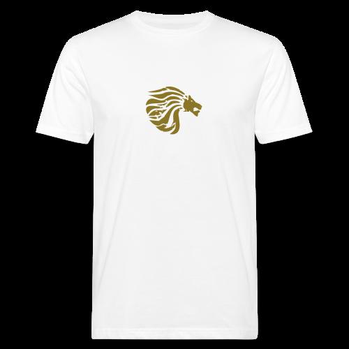 Organic Shirt Golden True Lion  - Men's Organic T-Shirt