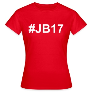 T-Shirt Simple #JB17 Rouge Femmes - T-shirt Femme
