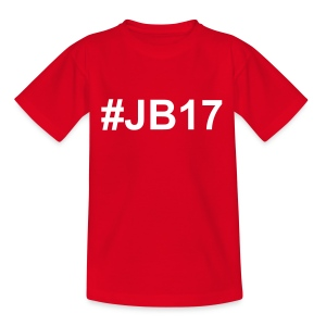 T-Shirt Simple #JB17 Rouge Enfants - T-shirt Enfant