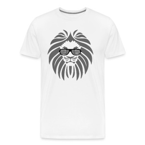 Party Löwe Mann  - Männer Premium T-Shirt