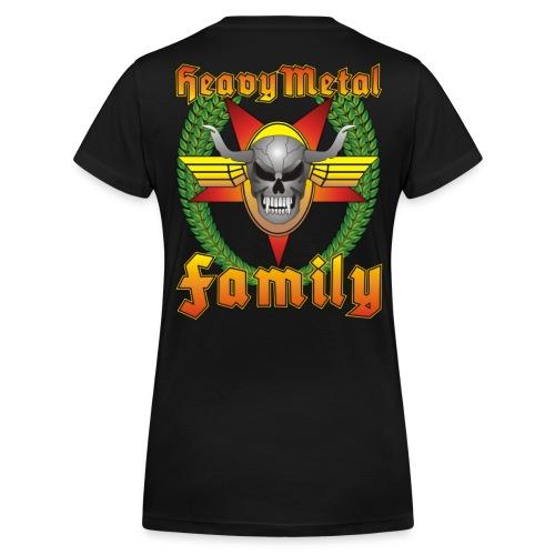 Heavy Metal Family Girlie No.1 - Frauen Bio-T-Shirt mit V-Ausschnitt von Stanley & Stella
