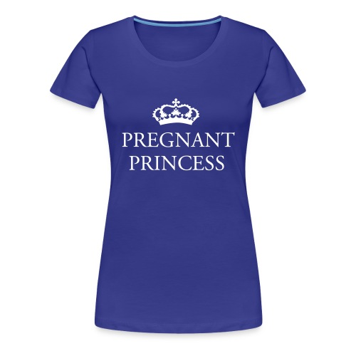 TEE-SHIRT-PREGANT PRINCESS-  - T-shirt Premium Femme