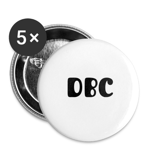DBC Buttons Groß - Buttons groß 56 mm