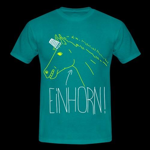 Hessisches Einhorn - Männer T-Shirt