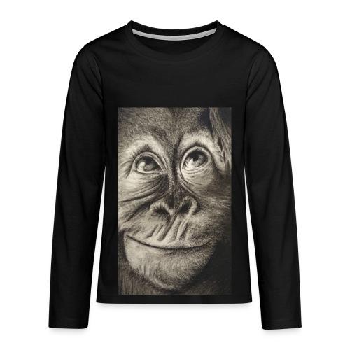 Tee shirt Premium manches longues Ado - T-shirt manches longues Premium Ado