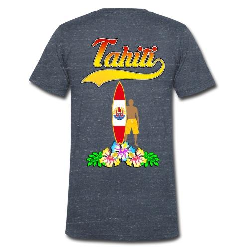 Tahiti surfing team - Men's Organic V-Neck T-Shirt by Stanley & Stella