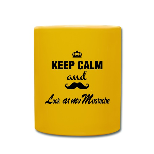 Keep calm and... - Premium Mug  - Tasse einfarbig