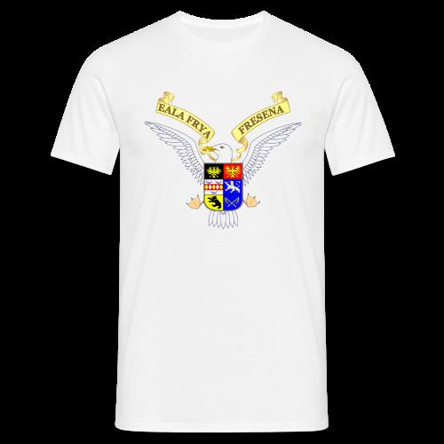 T-Shirt Ostfriesland-Möwen-Wappen (verschiedene Farben) - Männer T-Shirt