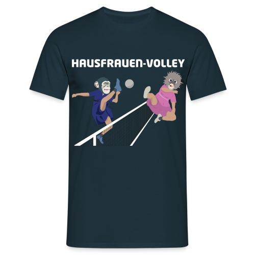 Hausfrauenvolley - Männer T-Shirt