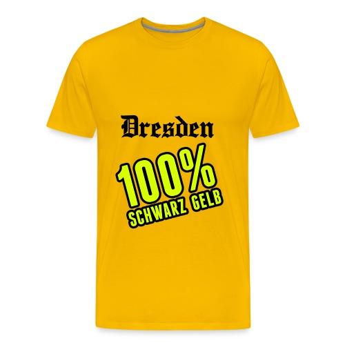 1ßß% Dynamo - Männer Premium T-Shirt