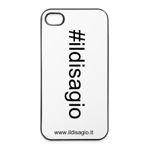 #ildisagio, Cover per iPhone 4/4S - Custodia rigida per iPhone 4/4s