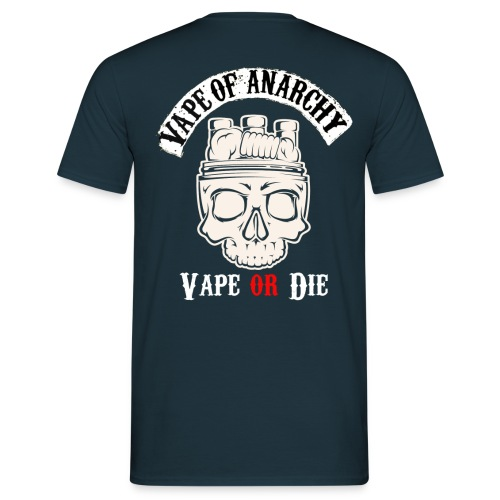 Skull vape of anarchy - T-shirt Homme