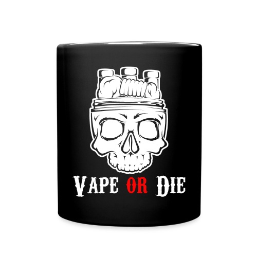 Mug Vape or Die centré - Mug uni