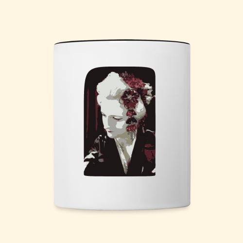 Geisha - Tasse zweifarbig