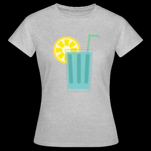 Fresh Blue Lemo - T-skjorte for kvinner