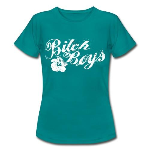 Bitch Boys floral - T-shirt Femme