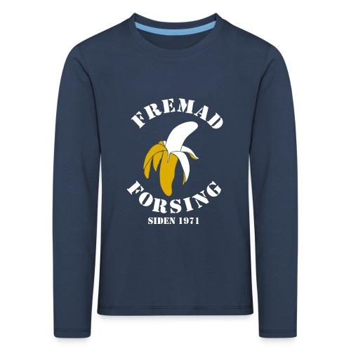 Classic Fremad Forsing børn langærm - Børne premium T-shirt med lange ærmer