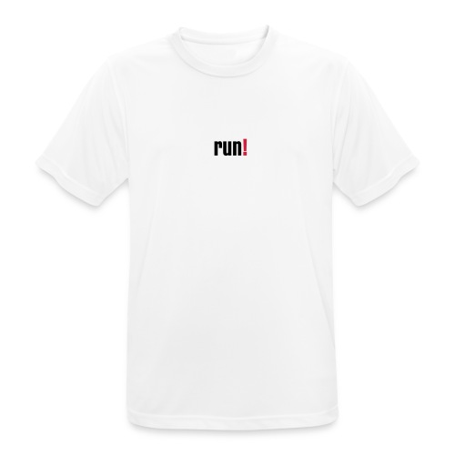 Running - run! - Männer T-Shirt atmungsaktiv