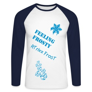 RTrixx FrosT Long-Sleeved Top - Men's Long Sleeve Baseball T-Shirt