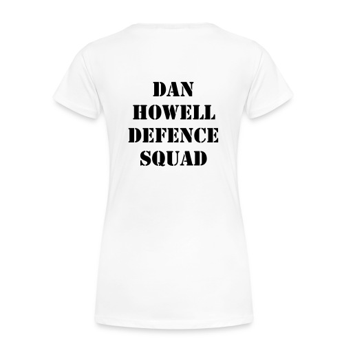 Dan Howell defence squad - Women's Premium T-Shirt
