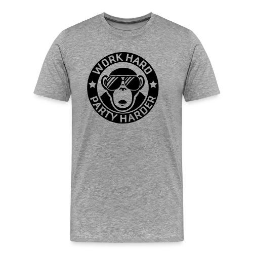 Work hard - Party harder - Männer Premium T-Shirt